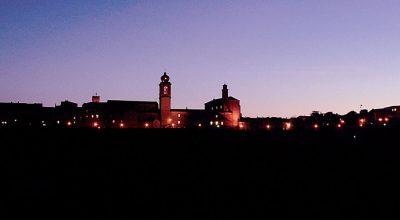 Immagine di Castelfidardo di notte