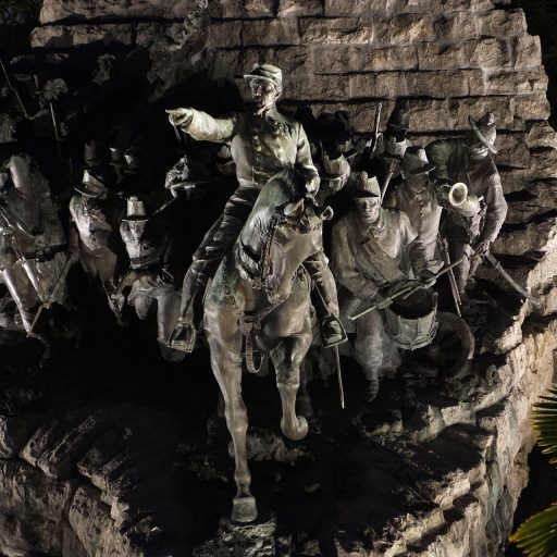Monumento in ricordo della Battaglia di Castelfidardo - Opera di Vito Pardo