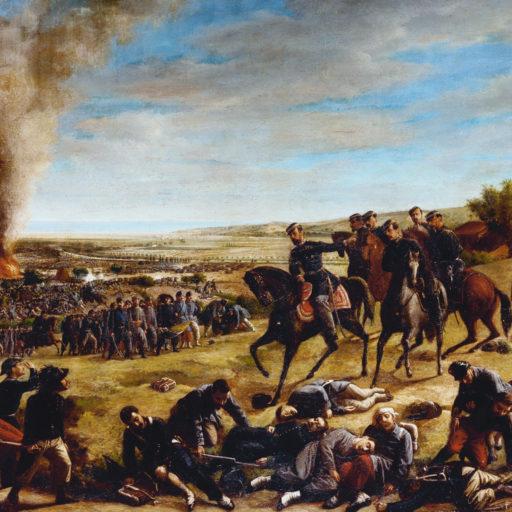 La Battaglia di Castelfidardo - Opera di Giovanni Gallucci