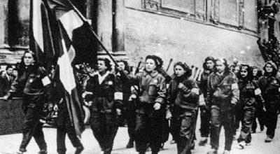 La donna nella resistenza ieri, oggi e domani
