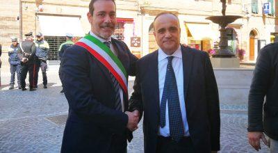 Sindaco Ascani - Ministro Bonisoli