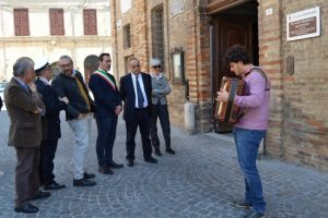 Visita del Ministro Alberto Bonisoli