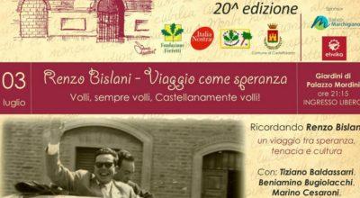 Volli, sempre volli, Castellanamente volli: serata dedicata a Renzo Bislani