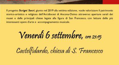 Scrigni sacri in Auditorium San Francesco