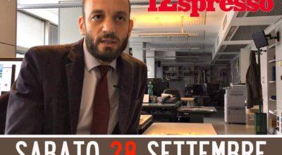 Festival del giornalismo d'inchiesta, c'è Giovanni Tizian