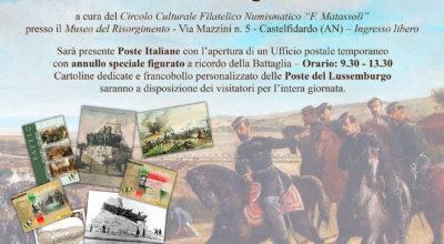 Locandina 160 Anniversario Battaglia Castelfidardo VISUALIZZA