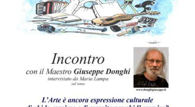 Parlare d'arte con il maestro Giuseppe Donghi