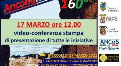 Ancona, Marche, Italia, 160°: conferenza di presentazione