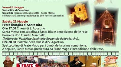 Parrocchia Sant'Agostino, festa di Santa Rita