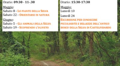 Passeggiate tematiche alla Selva per adulti e bambini